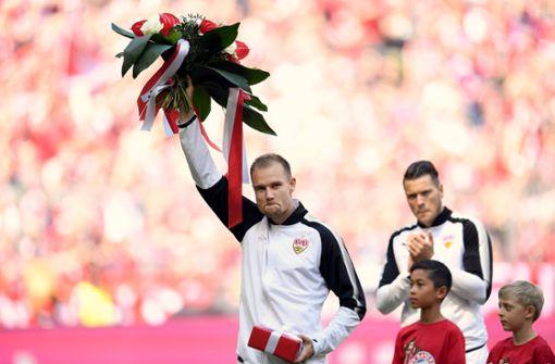 Holger Badstuber wurde bei seiner Rückkehr nach München vom FC Bayern geehrt. Foto: dpa