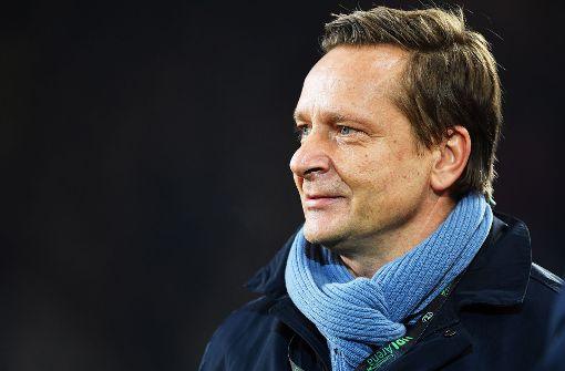 Der Hannoveraner Manager Horst Heldt Foto: Bongarts