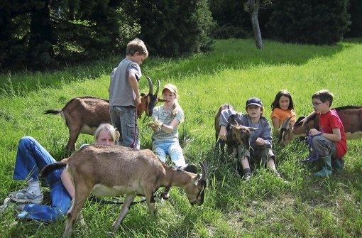 Der Kontakt zu Tieren bedeutet vielen Kindern viel –  auf diese Weise finden sie leicht Zugang zur Natur Foto: BdJA