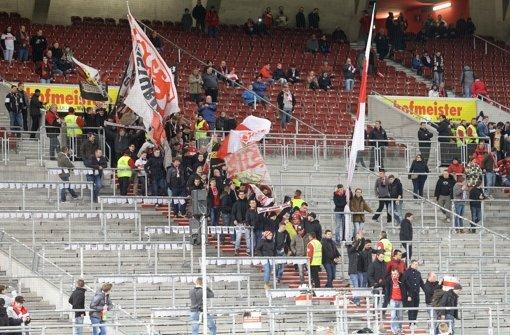 Der VfB muss um potenzielle neue Fans hart kämpfen Foto: Baumann