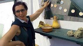 Lucia Cestari verwaltet ihren Bauernhof allein.