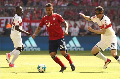 Der VfB begann gegen den FC Bayern mit einer offensiven Aufstellung, das sollte sich bereits früh auszahlen. Foto: Bongarts