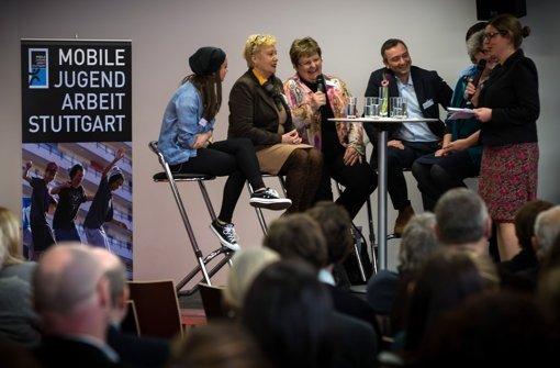Auf der Fachtagung zur mobilen Jugendarbeit diskutierten Experten in Stuttgart Foto: Lichtgut/Achim Zweygarth