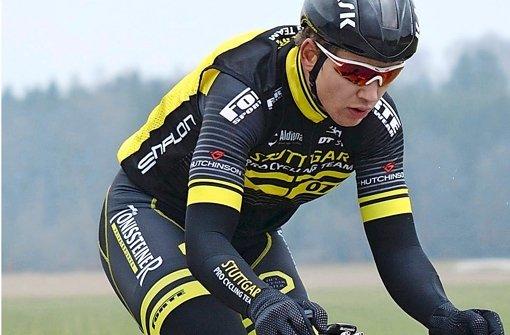 Siegfahrer: Arnold Fiek vom Team Stuttgart Foto: StN