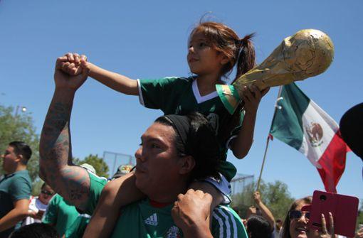 Entsprechend groß waren Stolz und Freude in Mexiko. Foto: AFP