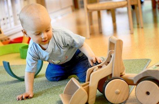 In die Kleinkindbetreuung im Süden soll Geld fließen. Foto: