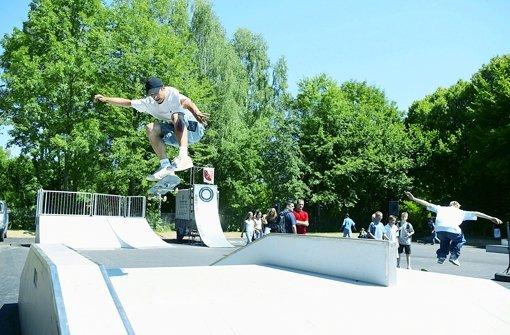 Vor allem Jugendliche hätten gerne einen Skatepark im Stadtteil. Foto: Achim Zweygarth