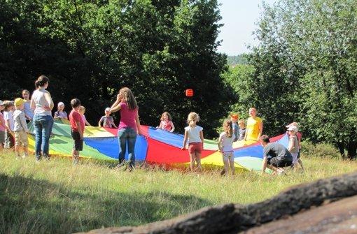 Die Waldheime bieten in den Ferien Foto: Judith Sägesser