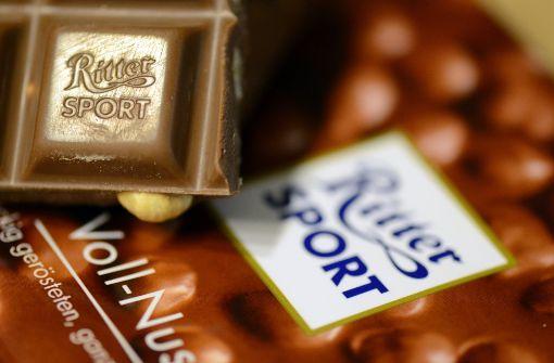 Die Schokolade wurde wohl bei diversen Raubzügen gestohlen (Symbolbild). Foto: dpa
